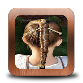 Kids School Hairstyles icon