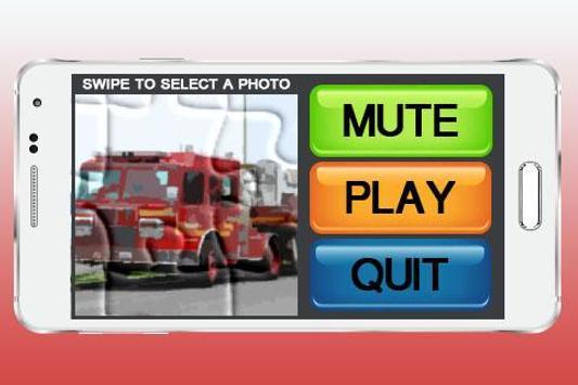 Fire Trucks Games Puzzle apk screenshot
