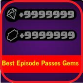 Best Episode Passes Gems icon