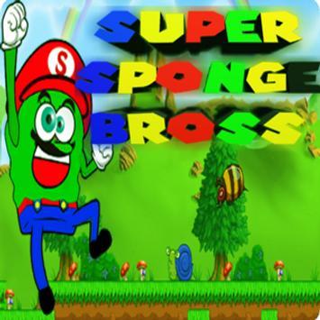 Super Sponge Bario Bross poster