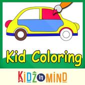 Colour and Paint - KidzInMind icon