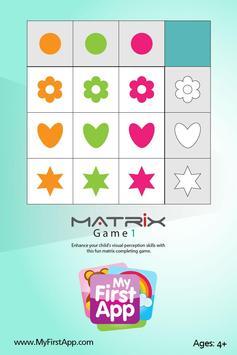 Matrix Game 1 - KIM poster