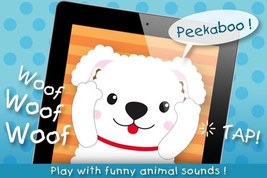 Peek-A-Boo Pets - KidzInMind apk screenshot