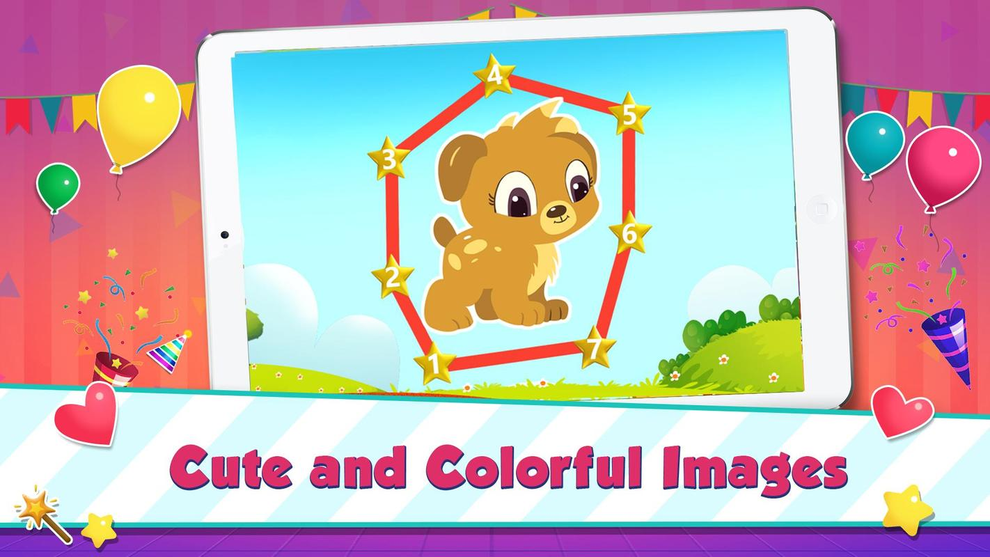 Kids Connect The Dots Free - Kids Learning Game for Android - APK ...