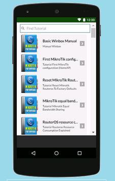 Guide for Mikrotik 2017 apk screenshot
