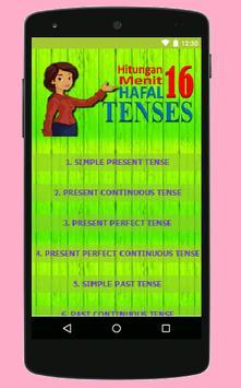 Pintar 16 Tenses apk screenshot