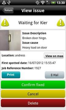 Kier Repairs apk screenshot
