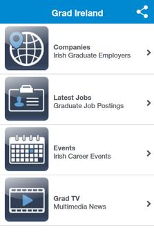 Grad Jobs Ireland poster