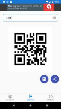 Lector QR y Código de Barras screenshot 2