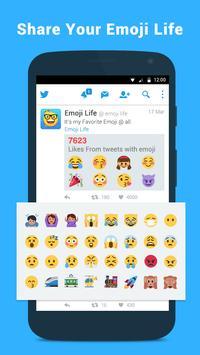 Emoji Life for Twitter poster