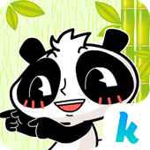 Kika Pro Nono Panda Sticker icon