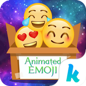 Kika Emoji Animated Sticker icon