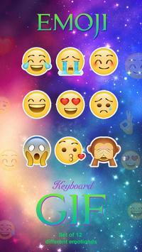 Kika Emoji Animated Sticker poster