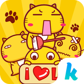 Kika Pro Hamicat Sticker Gif icon