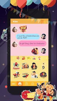 Kika Pro Party Time Sticker apk screenshot