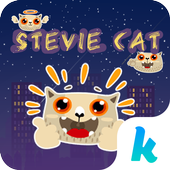 Kika Pro Stevie Cat Sticker icon