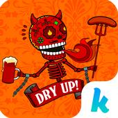 Kika Pro Sugar Skull Sticker icon