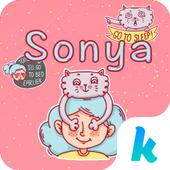 Kika Keyboard Sonya Sticker icon