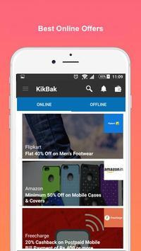 KikBak - Discount Card poster