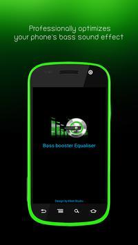 Bass booster Equaliser poster