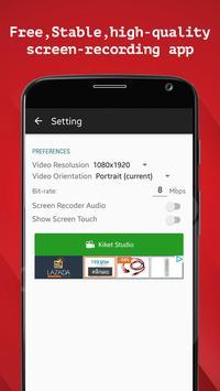 SCR Screen Recorder apk screenshot