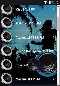 Radios España FM poster