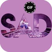 Sad Gif icon