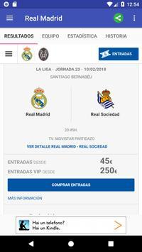 Real Madrid screenshot 1
