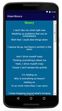 Kiiara - Song And Lyrics apk screenshot