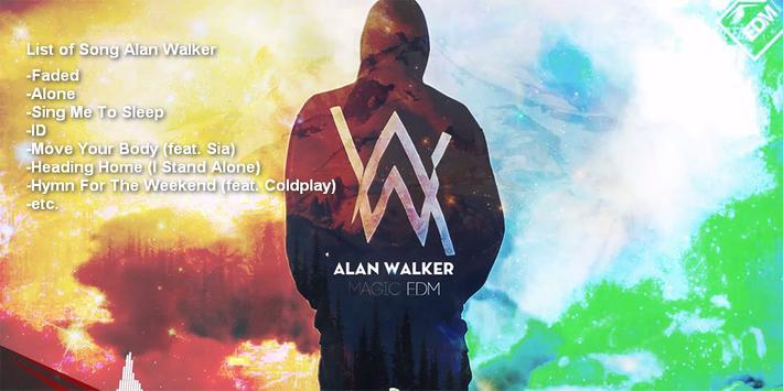 Alan Walker - Faded Lyrics apk screenshot