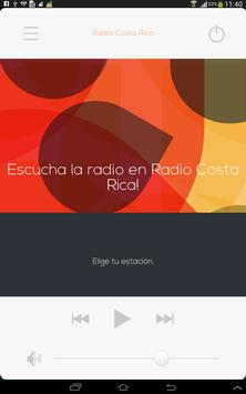 Radio Costa Rica, all radios poster