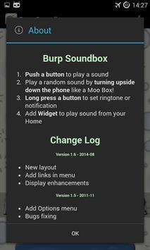 Burp Soundboard apk screenshot