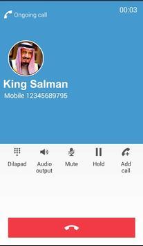 Fake Call From King Salman screenshot 4