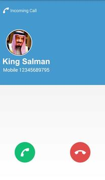 Fake Call From King Salman screenshot 5