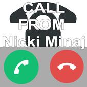 Nicki Minaj Call Prank icon