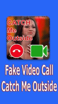 Video Call Catch Me OutSide poster