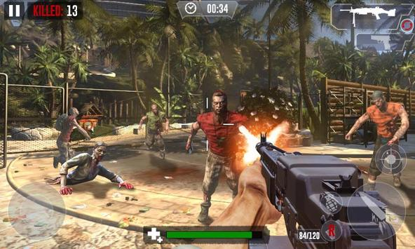Zombie Hunter Shooting The Zombie Apocalypse 3D screenshot 3