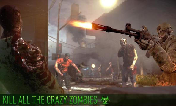 Zombie Hunter Shooting The Zombie Apocalypse 3D poster