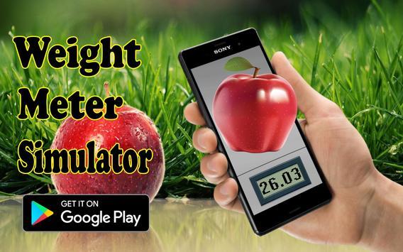Scales. Meter weight simulator poster