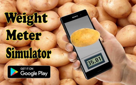 Scales. Meter weight simulator screenshot 1