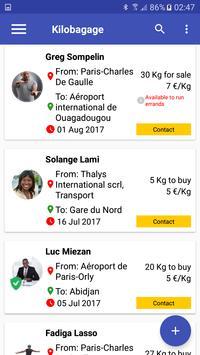Kilobagage screenshot 3