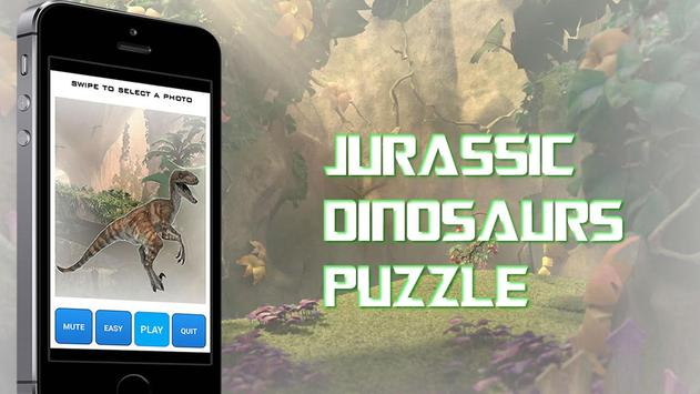 Jurassic Puzzles Dinosaurs poster