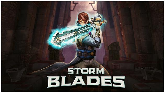 Stormblades Affiche