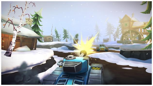 Tank Headz - Online PvP Arena Battles apk screenshot