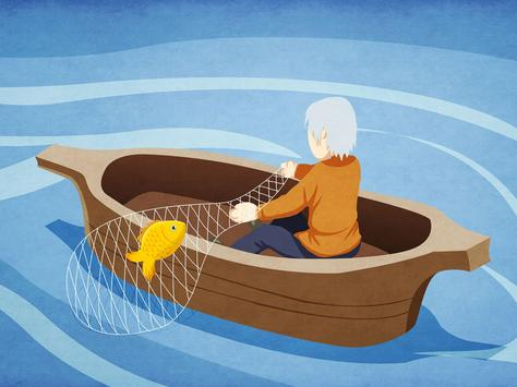 Kila: The Fisherman & the Fish apk screenshot