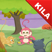 Kila: The Monkey and Two Cats icon