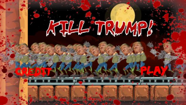 Kill Trump with Gun: Extreme! apk screenshot