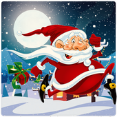 Angry Santa Claus - Running Game icon