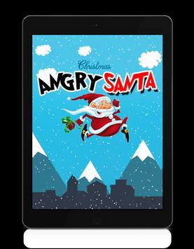 Angry Santa Claus - Running Game poster