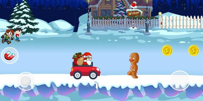 Angry Santa Claus - Running Game apk screenshot